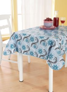PVC Material Plastic Printed Disposable Tablecloth pictures & photos