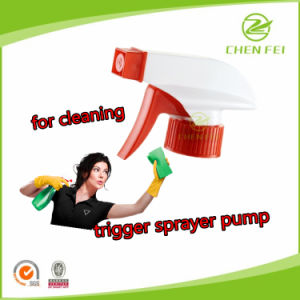 Ribbed Closure Any Color Water Dispenser Handhold Trigger Sprayer Pump