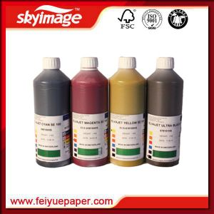 Sensient Elvajet S Series Dye Sublimation Ink High Performance for Sublimation Inkjet Printer pictures & photos