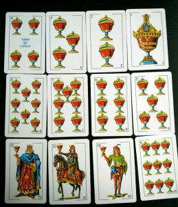 Spainish Customized Paper Playing Cards /Naipes pictures & photos