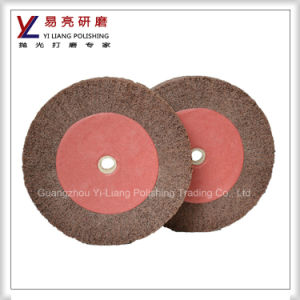 Wooden/ Metal Surface Drawing Satin Non Woven Flap Wheels