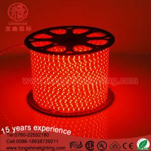 IP 44 Warm White RGB PVC Flex Copper LED Light Strip SMD 5050 2835 Ce&RoHS pictures & photos