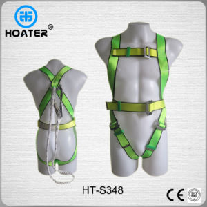 High Quality Adjustable Safety Harness and Lanyard with Snap Hooks pictures & photos