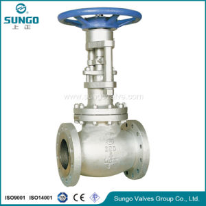 Gear Flange Wcb Globe Valve pictures & photos