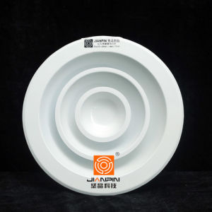 Ventilation Round Ceiling Air Diffuser with Volume Control Damper pictures & photos