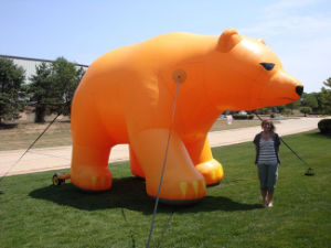 Advertising Giant Inflatable Bear for Sale pictures & photos