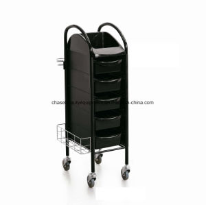 Fashion Hot Sale Hairdressing Trolley Hair Care Handcart pictures & photos