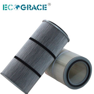 Powder Spray Dust Extractor Polyester Pleated Filter Cartridge pictures & photos