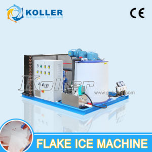 Made in Koller 1 Ton Sea Water Flake Ice Machine for Fishing Boat Kp10 pictures & photos
