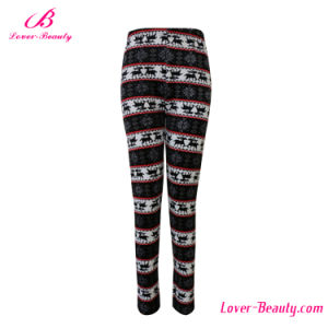 Seamless Reindeer Snowflake Leggings for Women Sexy Leggings pictures & photos