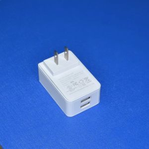5V2a 2.5A 3A Charger 2 Output Port Dual USB Adapter pictures & photos