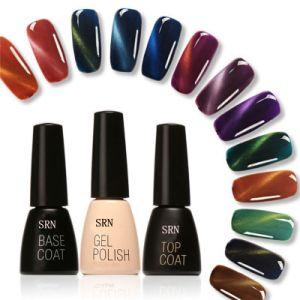 Multi-Color Soak off Nail Gel Polish Cat Eye UV&LED Shining Long Lasting Nail Polish pictures & photos