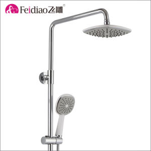 Hot Sale Low Cost High Quality Brass  Rain Shower Mixer with Spout pictures & photos