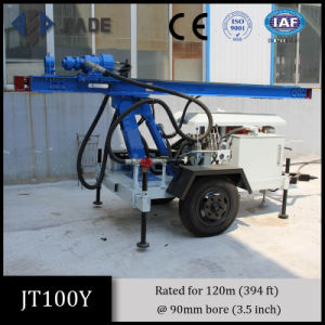 Jt100y All-Hydraulic Portable Small Drilling Rig pictures & photos