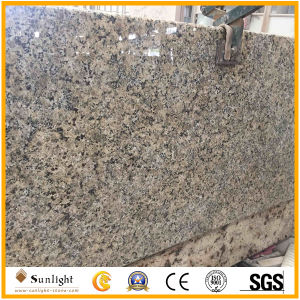 Prefab Island Top Solarius Gold Granite Kitchen Countertop pictures & photos
