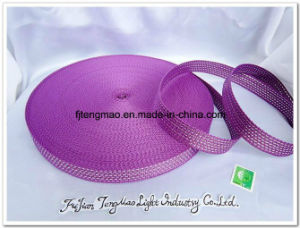 600d Purple with Silver PP Webbing for Shool Bags pictures & photos