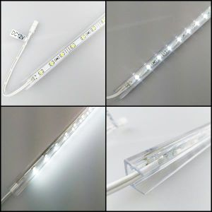 Plastic LED Clip for 8mm Thick Glass pictures & photos