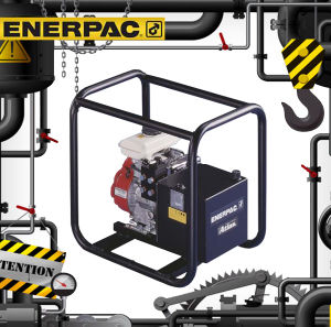 Bp-Series Battery Powered Hydraulic Pumps (Bp-122e) Original Enerpac pictures & photos