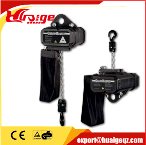 Manufacturer Supply 0.5ton Electric Stage Chain Hoist pictures & photos