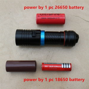 5000lm Xm-L2 Waterproof Diving Flashlight pictures & photos