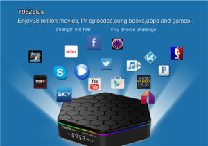 2017 Android Pendoo T95z Plus Amlogic S912 Android 6.0 2g 16g 4k Kodi 17.0 Loaded Add- LED Display WiFi 1080P Set Top Box pictures & photos