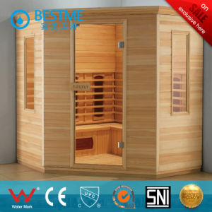 Luxury Finland Wood Sauna Steam Room Big Size (BZ-5039) pictures & photos