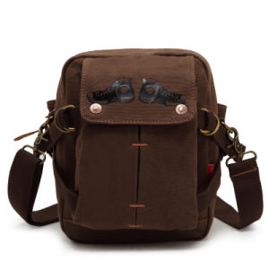 Outdoor Traveling Leisure Canvas Cheapest Wholesale Shoulder Bag (RS-H68) pictures & photos