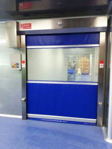 High Quality Plastic Cheap Rapid Roller Shutter Door pictures & photos