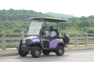 Hot Sale 48V Alum Chassis 4 Seats Electric Golf Cart pictures & photos