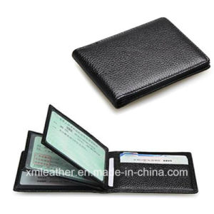 PU Leather Slim Super Thin Business Card Holder Case pictures & photos