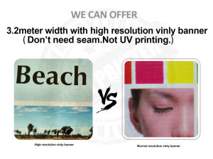 13oz High Resolution Outdoor Advertising Vinyl PVC Banner (SS-VB97) pictures & photos