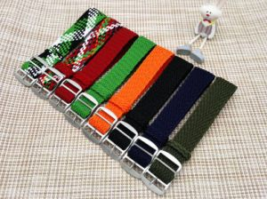 High Quality Different Colored Perlon Watch Strap pictures & photos