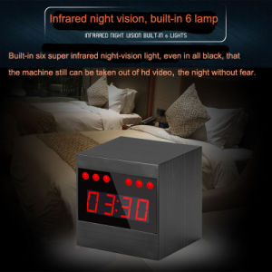 A10 Wireless 1080P HD Night Vision IR Alarm Motion Detection Mini Security Clock Camera Video Recorder pictures & photos