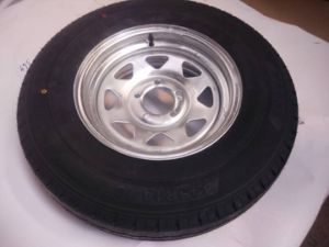 Australia Market HDG Steel Wheel for Boat Trailer pictures & photos