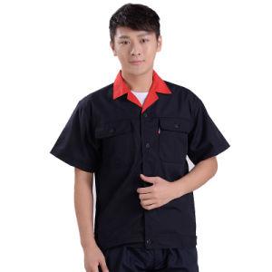 Wholesale Men Workwear Blue Casual Work Uniform pictures & photos
