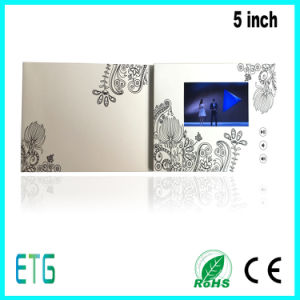 5 Inch IPS/HD Screen Video Greeting Cards for Best Regards pictures & photos