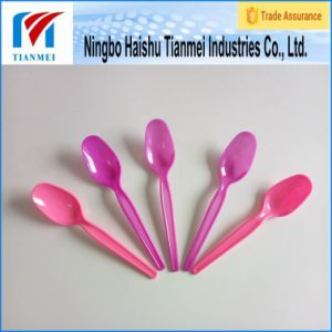 Custom Long Handle Ice Cream Plastic Spoon pictures & photos