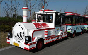 Tourist Road Train with Diesel Engine pictures & photos