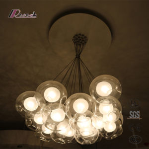 Balloon Design Clear Glass Hanging Lamp L131056-H17 pictures & photos