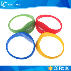 Waterproof 125kHz Silicone RFID Bracelets pictures & photos