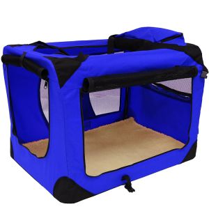Lightweight Fabric Pet Carrier Crate with Fleece Mat Pet Carrier Bag pictures & photos