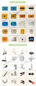 2g/3G/4G 900/1800/2100MHz 20dBm Tri Band Mobile Signal Booster pictures & photos