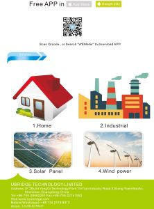Wireless Electric Home Energy Meter Made in China pictures & photos