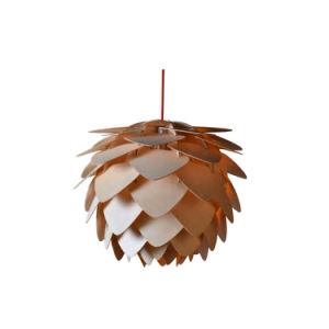Modern Design Furniture Table Lamp Natural Wooden Rotatable Pinecone Lamps Oz-Al660 pictures & photos