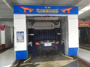 Automatic Car Washing Machine with Five Gentle Brushes pictures & photos