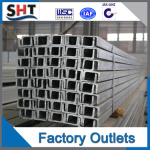 U Shape Hot Rolled Steel Channel Bar pictures & photos