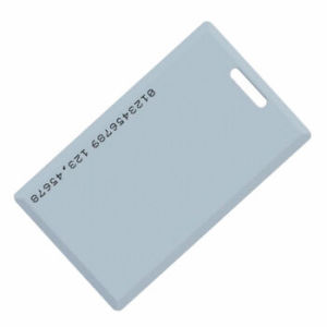 1.8mm Thickness Blank PVC RFID Card for Access Control System pictures & photos