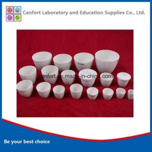 Lab Equipment Refractory Medium Wall Ceramic Crucible pictures & photos