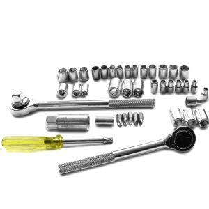 "52PCS Professional Hand Tool Set 1/4""&3/8""&1/2"" Combination Drive Socket Set pictures & photos"