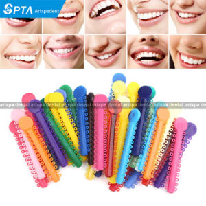 Dental Supplies Orthodontics Elastic Ligature Ties Mixed Color pictures & photos